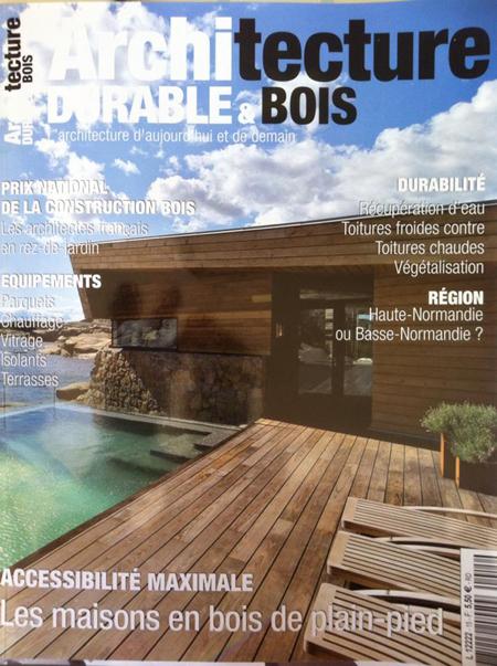 Constructeur de maisons bois en seine maritime for Architecture en bois