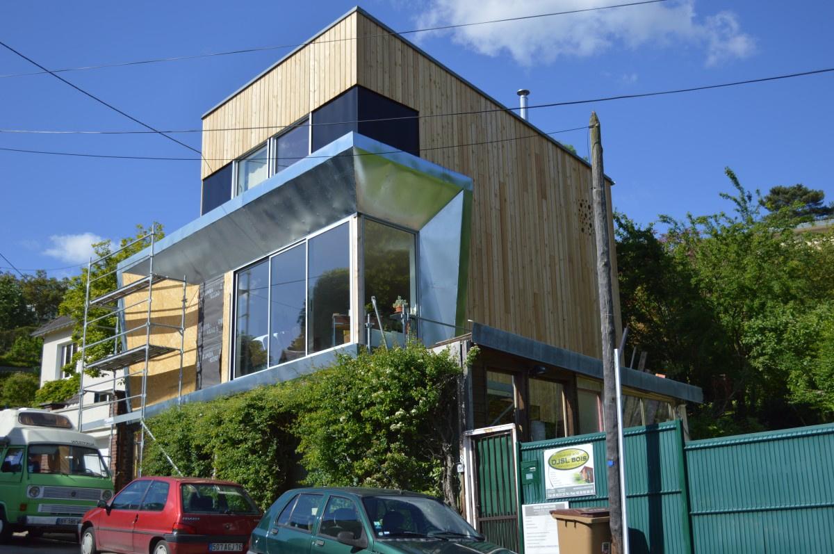 Maison en bois architecte latest ambiance tropical et minimaliste p with maison en bois for Architecte maison bois