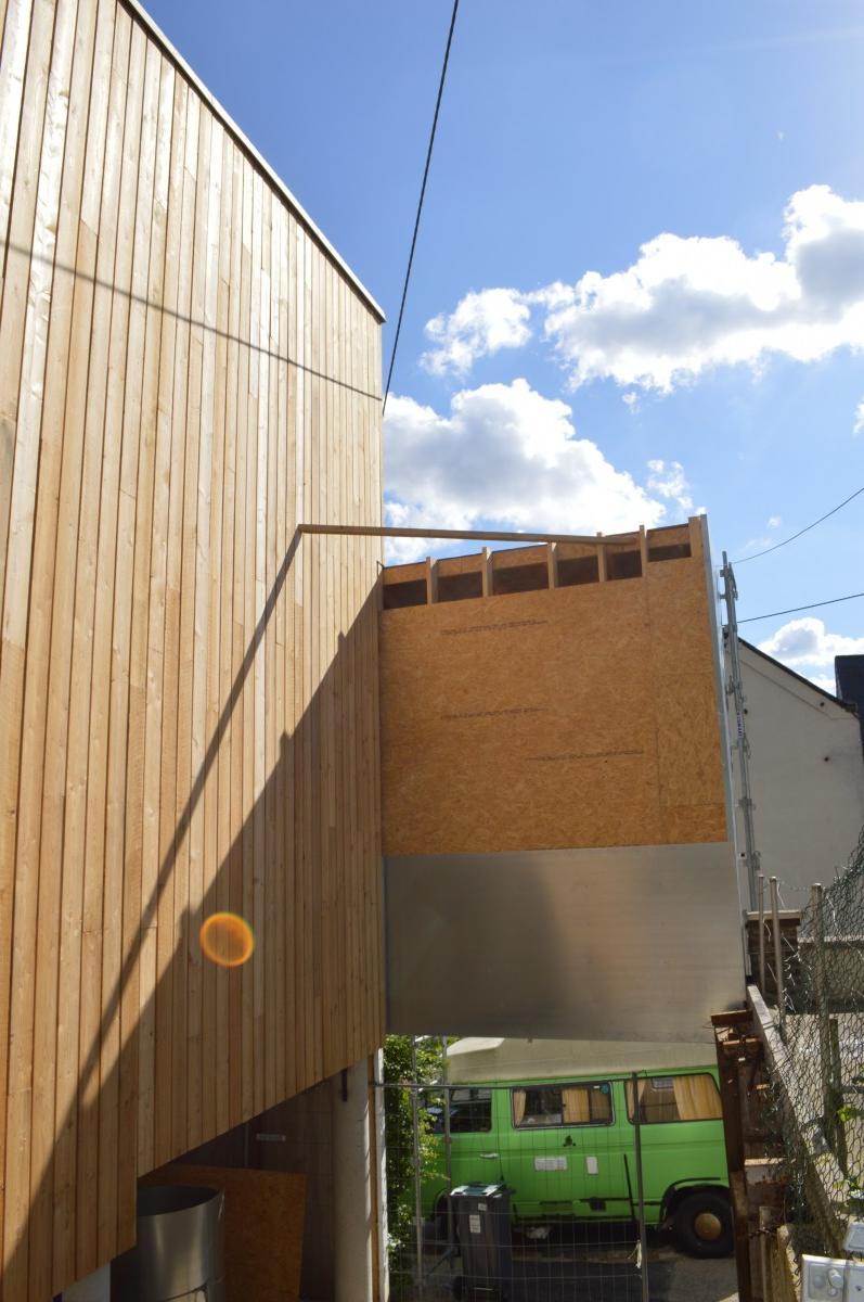 maison d 39 architecte bois contemporaine rouen djsl bois. Black Bedroom Furniture Sets. Home Design Ideas