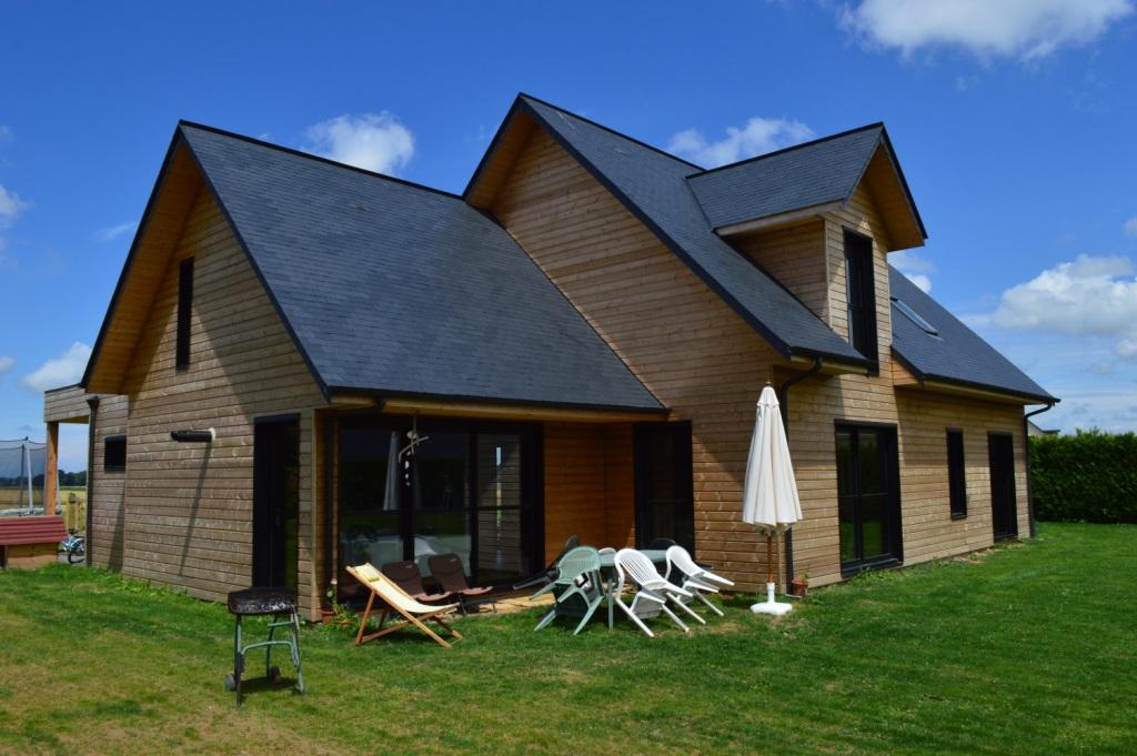 maison bois traditionnelle