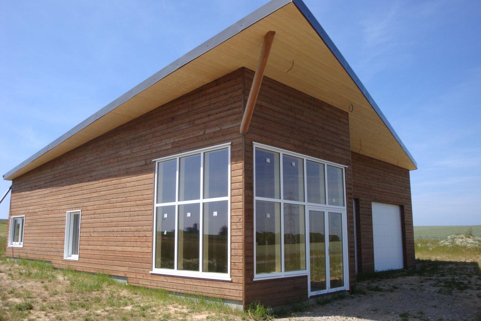 construction d'un atelier à criquetot sur longueville > djsl-bois