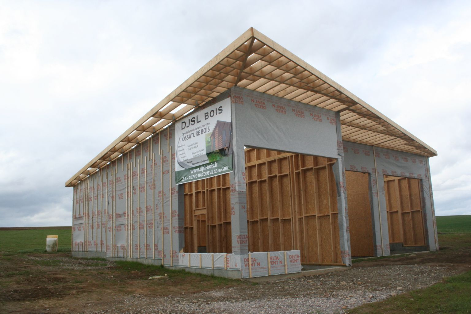 construction bois seine maritime