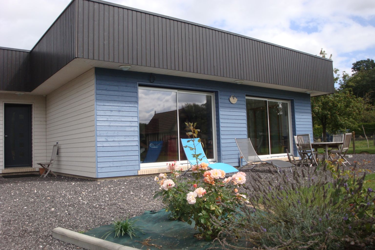 Maison bois à Gonneville sur Scie (76590) > DJSLBois