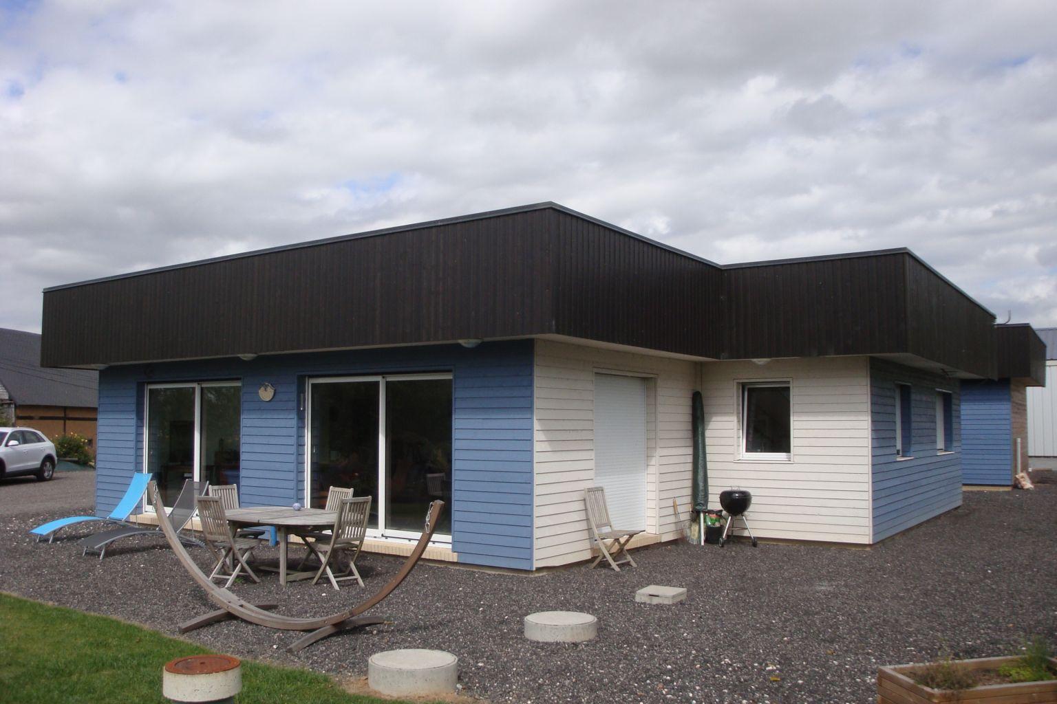 Maison bois à Gonneville sur Scie (76590) > DJSL-Bois