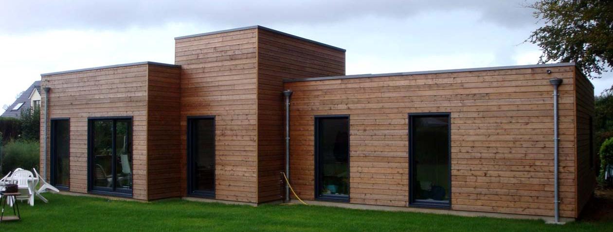 Constructeur de maisons bois en seine maritime for Constructeur maison contemporaine seine maritime