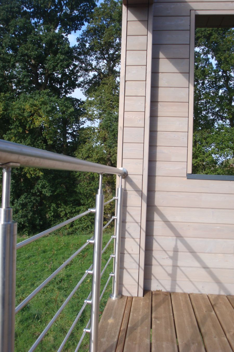 Maison en ossature bois varengeville sur mer 76119 djsl bois for Construction en bois var