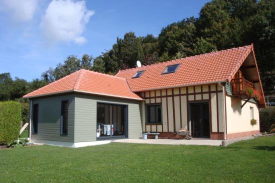 Extension maison normande ventana blog for Avis sur maison ossature bois