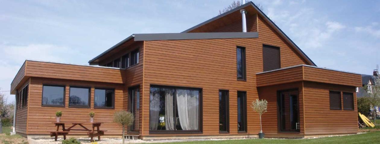 Constructeur de maisons bois en seine maritime for Constructeur en bois