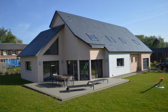 Terrasse en composite offranville djsl bois - Bois composite forexia ...