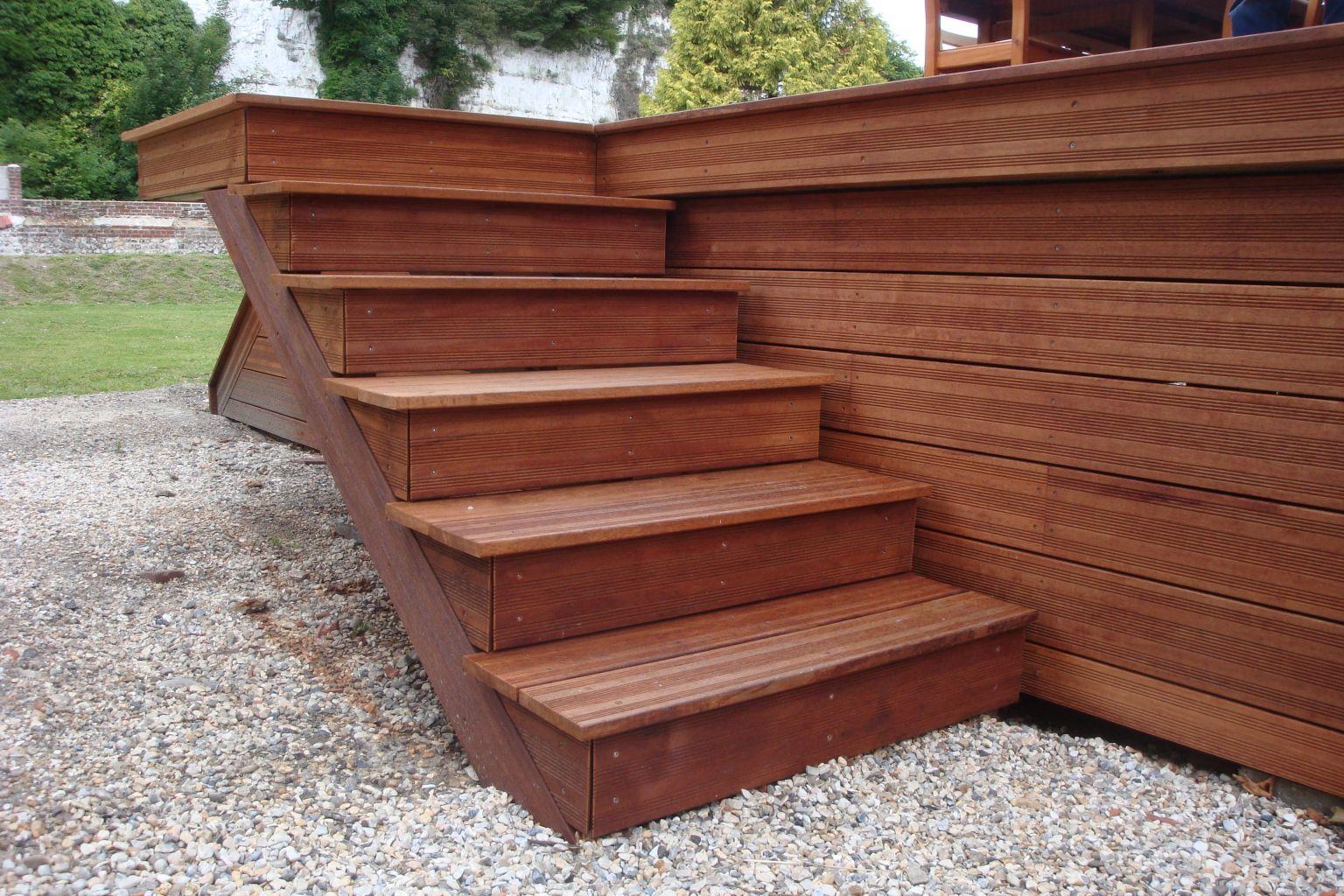 terrasse bois exotique dieppe 76200 djsl bois. Black Bedroom Furniture Sets. Home Design Ideas