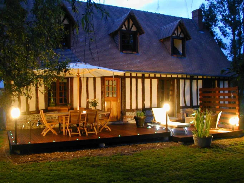 Terrasse En Ipe A La Houssaye Berenger 76690 Djsl Bois